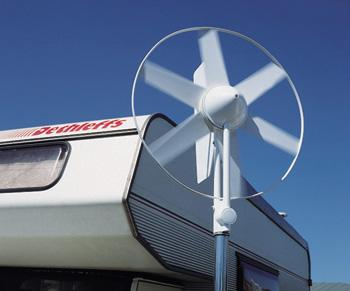 Eolienne axe vertical pour camping car